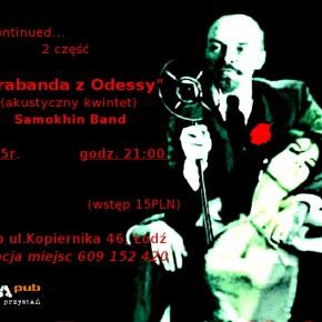 """Samokhin Band     """"Kontrabanda z Odessy"""""""