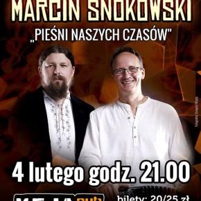 """W bardowskich klimatach. Łukasz Nowak i Adam Snokowski """"Pieśni naszych czasów"""""""