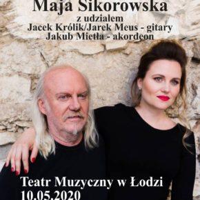 Andrzej Sikorowski i Maja Sikorowska . Koncert w Teatrze Muzycznym w Łodzi