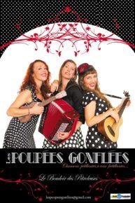 """Wieczór francuski. """"Oryginalne Chansons z południa Francji""""   Les Poupées  Gonflées"""