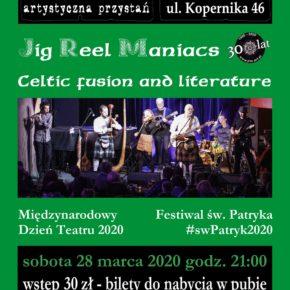Celtycka Keja. Koncert grupy Jig Reel Maniacs
