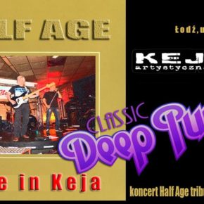 Tribute Deep Purple. Koncert grupy Half Age