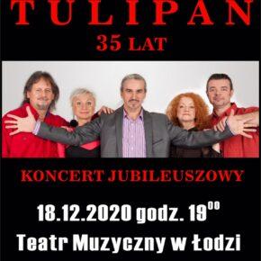 35 Lat grupy Czerwony Tulipan. Koncert jubileuszowy w Teatrze Muzycznym w Łodzi